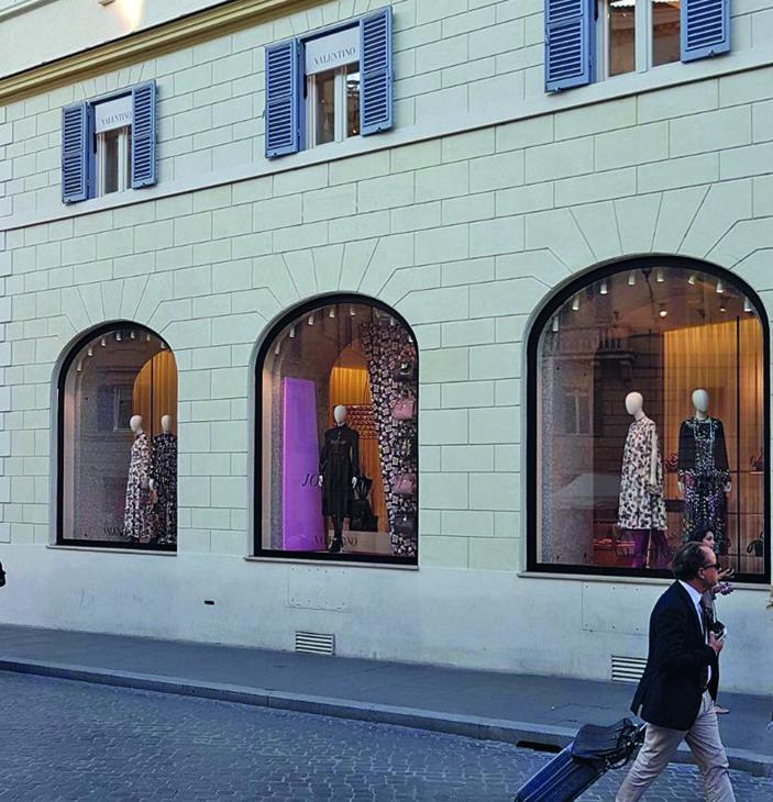 Roma, Piazza di Spagna Boutique Valentino